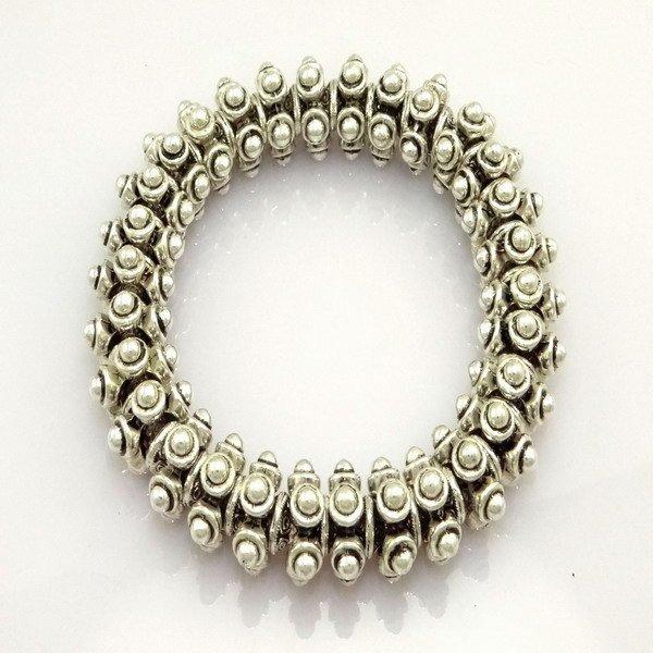 fashion jewelry,925 Stamped 925 Sterling Silver Jewelry Bracelets&bracelet, Miao Silver, Brand New D04