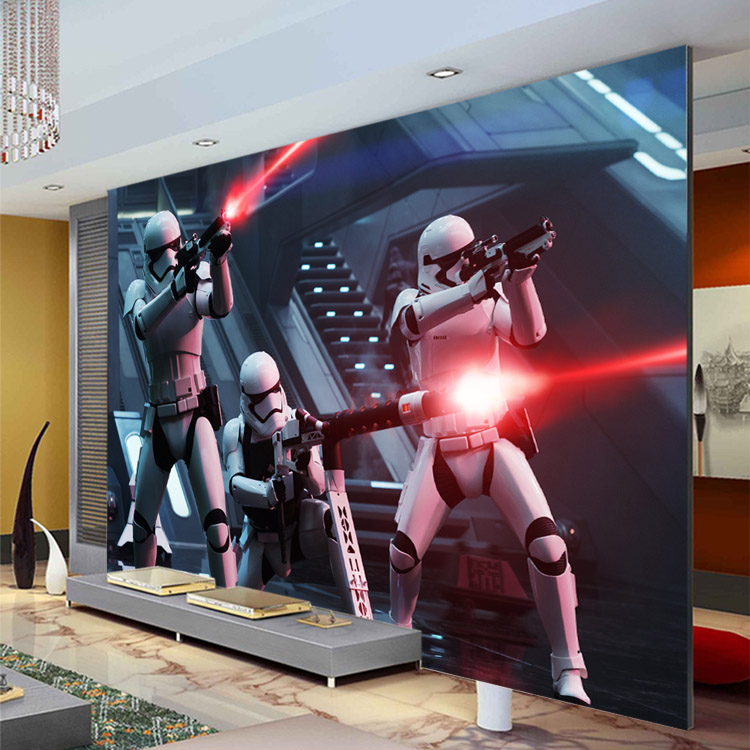 star wars wall murals wallpaper joshua and tammy. Black Bedroom Furniture Sets. Home Design Ideas