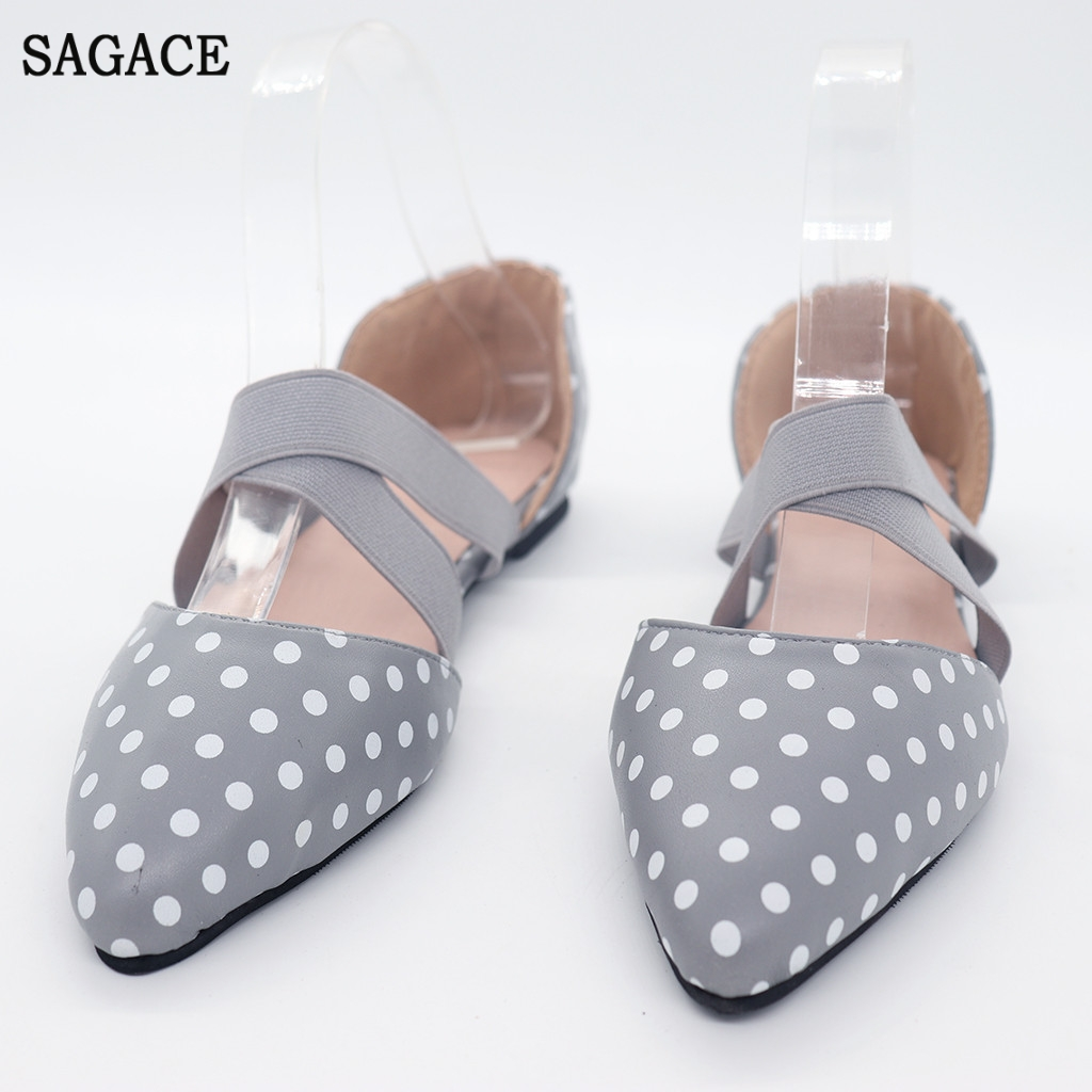 SAGACE Women Ladies Fashion Pointed Sexy High Quality Outsid Ladies Shoes Toe Flat Leopard Casual Sandals Single ShoesSAGACE Women Ladies Fashion Pointed Sexy High Quality Outsid Ladies Shoes Toe Flat Leopard Casual Sandals Single Shoes