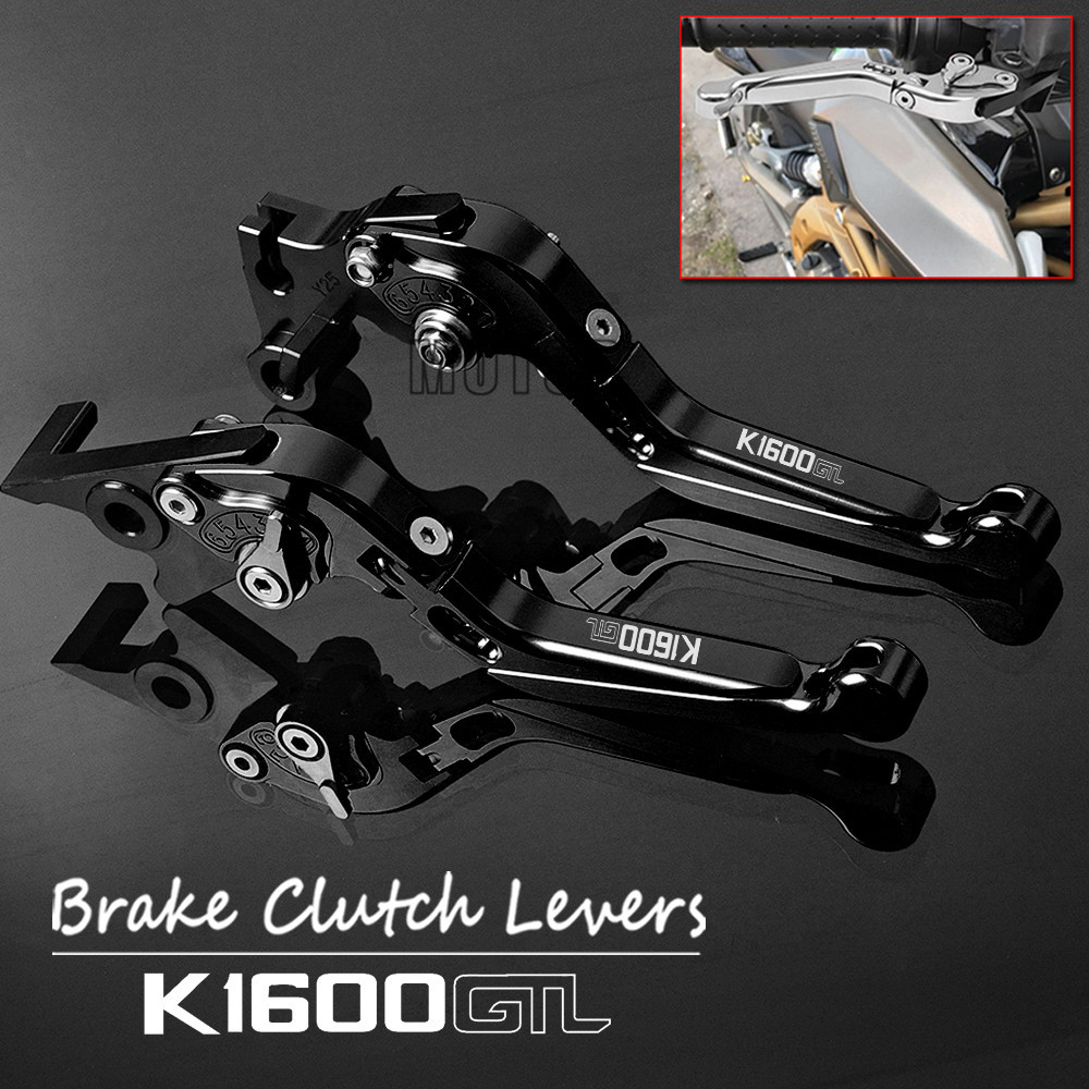 Motorcycle CNC Aluminum Brake Clutch Levers For BMW K1600GTL 2011-2015 2012 2013 2014 Adjustable Foldable Lever K 1600 K1600 GTL цены
