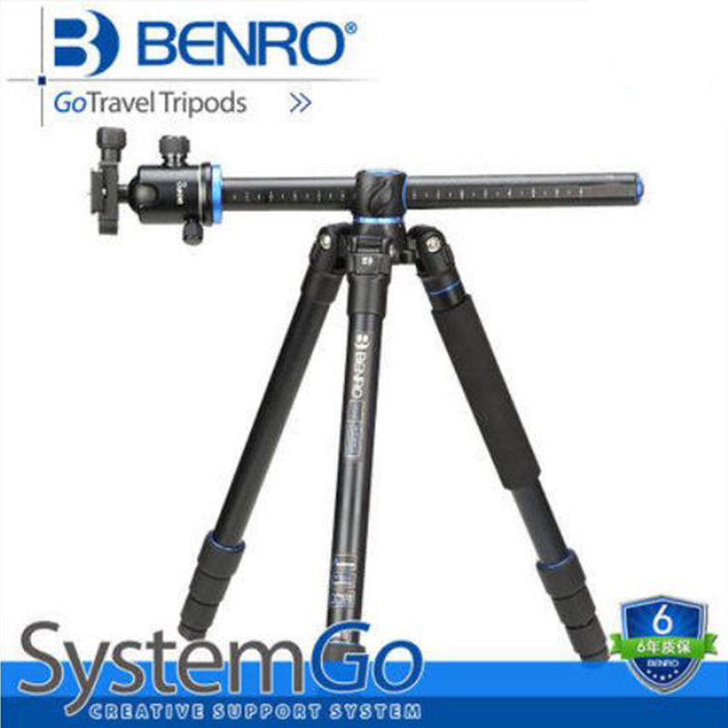 Benro GA268TB2 Aluminum Tripod Kit Portable Digital Camera Tripod With Ball Video Head Stable Bracket For Canon Nikon Sony DSLR new original cp1l l14dt a plc cpu 100 240vac input 8 point transistor output 6 point