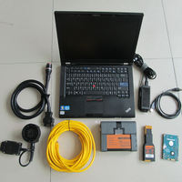 for bmw icom a2 b c with software multi languages 2018.12v 500gb hdd+ laptop for lenovo t410 (i5, 4g)+ directly use!!