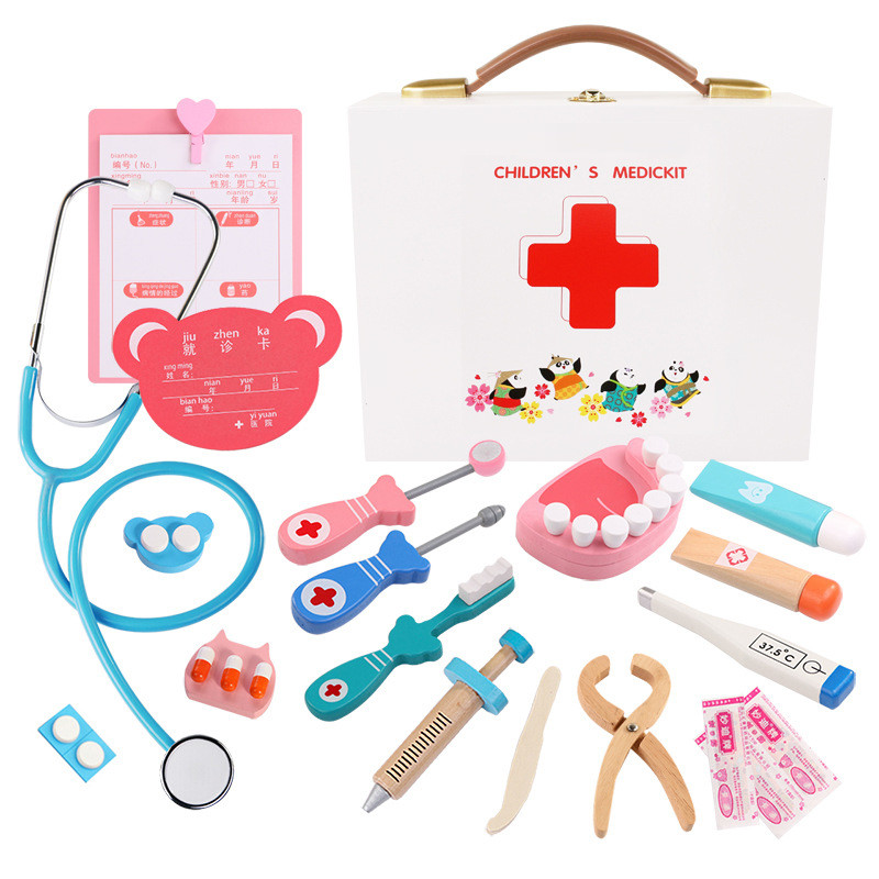 770b034dd5bb Dropwow Kids Toys Doctor Set Baby Suitcases Medical Kit Cosplay ...