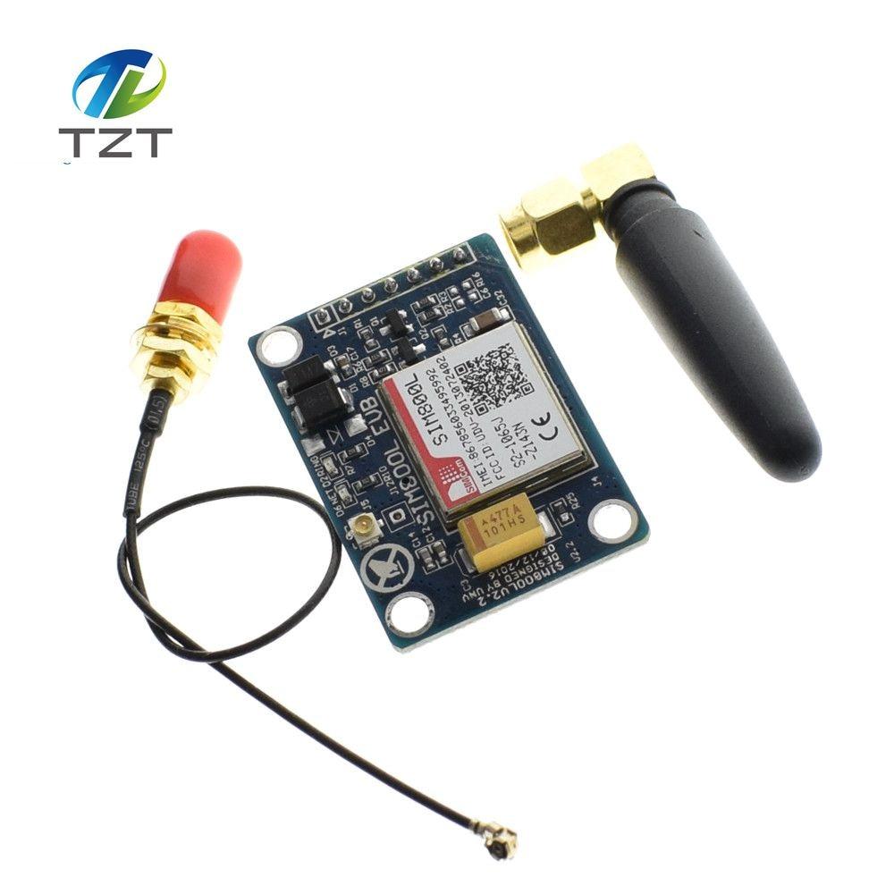 2PCS SIM800L V2.0 5V Wireless GSM GPRS MODULE Quad-Band W// Antenna Cable Cap