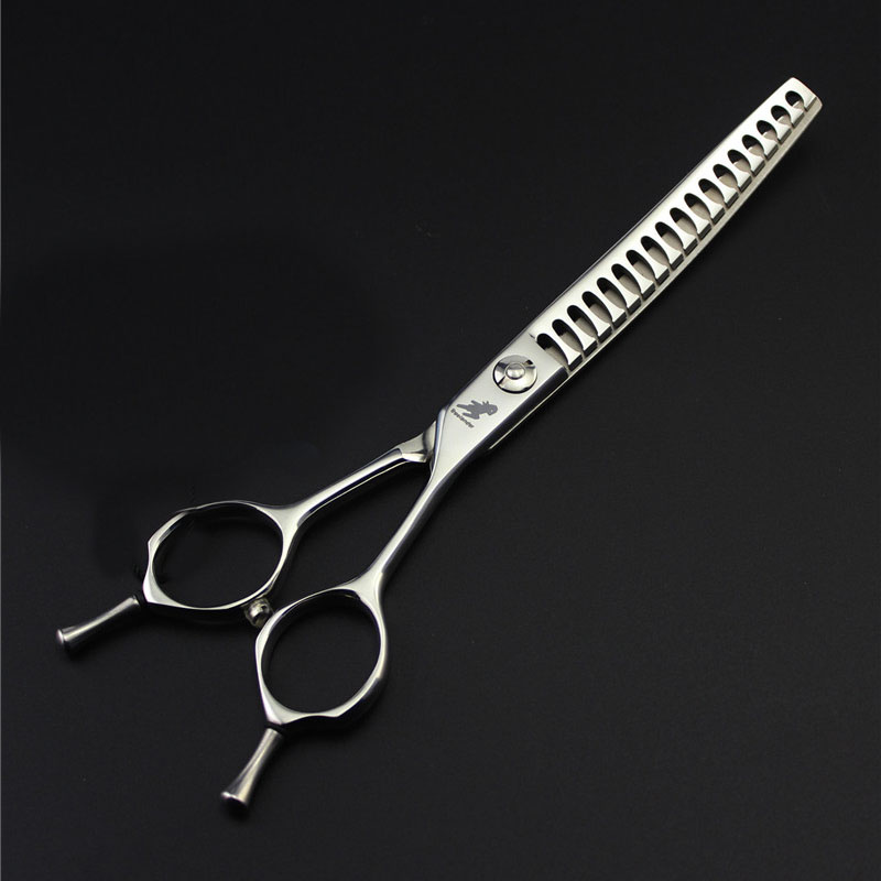 6.5inch Shark Fish Bone Teeth Pet Dog Upward Curved Thinning Scissors Professional Shears Dog Grooming Salon Pet Hair Cut Scisor цена