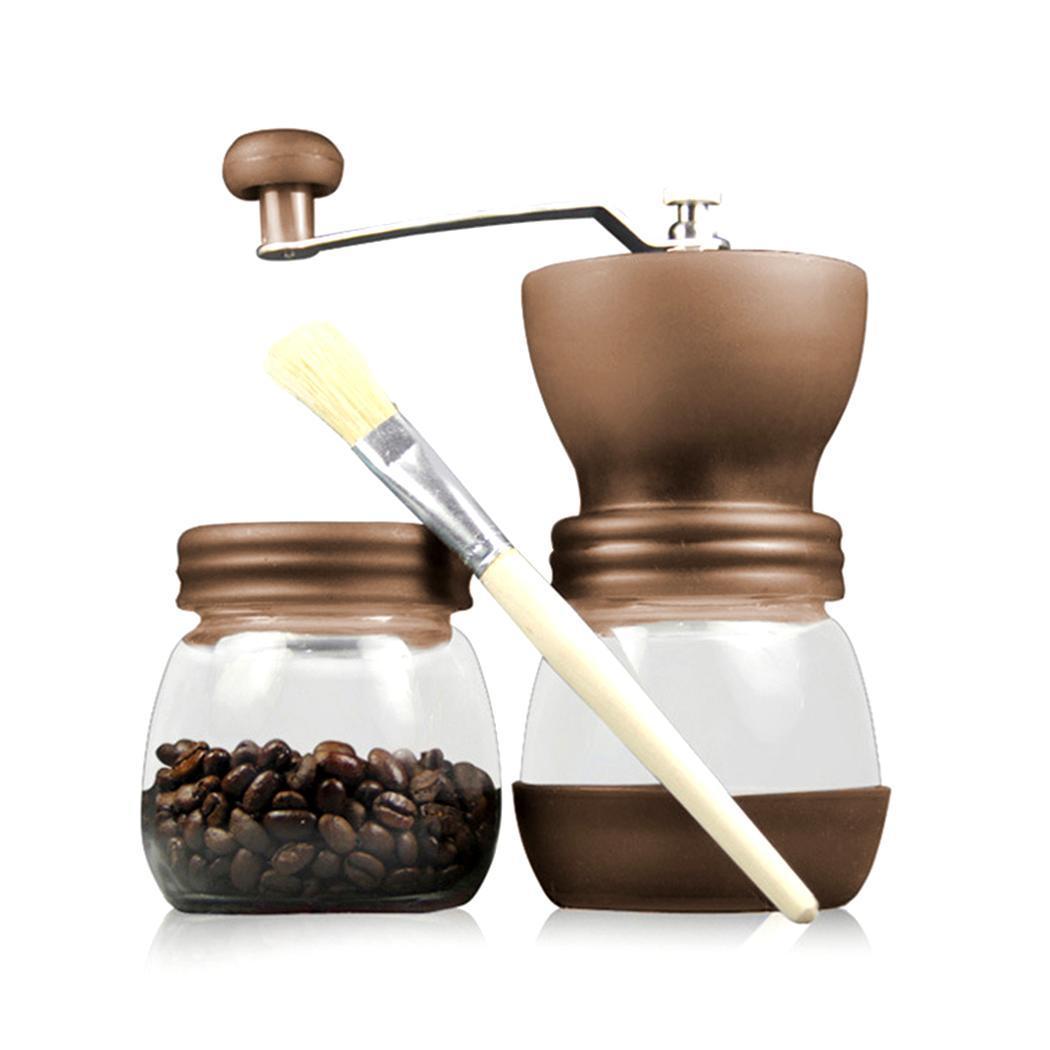 Coffee Maker household coffee machine Mini Portable Durable Manual Coffee Grinder Household Coffee Machine New