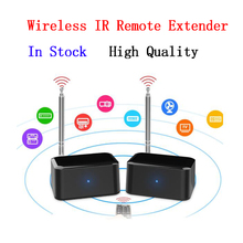 Wholesale high quality 433MHz Wireless IR Remote Extender Repeater HDMI Transmitter Receiver Blaster Emitter For TV DVD DVR IPTV