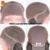 Ponytail Yaki Llena Del Cordón Pelucas de Pelo Humano Para Las Mujeres Negras sin cola Pelucas Delanteras Del Cordón Recto Rizado Brasileño de la Virgen de Encaje Completo peluca