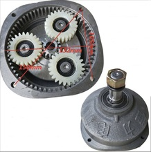 Nylon Gear Center gear:15t . Planet gear:24t  Electric tricycle motor gearbox motor head reducer assembly цена