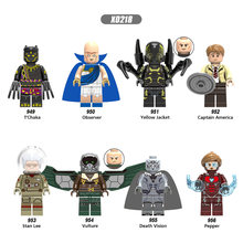 Single Sale Super Heroes Observer Yellow Jacket Captain America Vulture Figures Building Blocks Toys Gifts for Children(China)