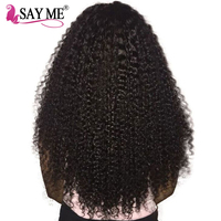 Malaysian Kinky Curly Weave Human Hair Bundles Natural Color Hair Extensions Non Remy SAY ME 100% Human Hair Shipping Free