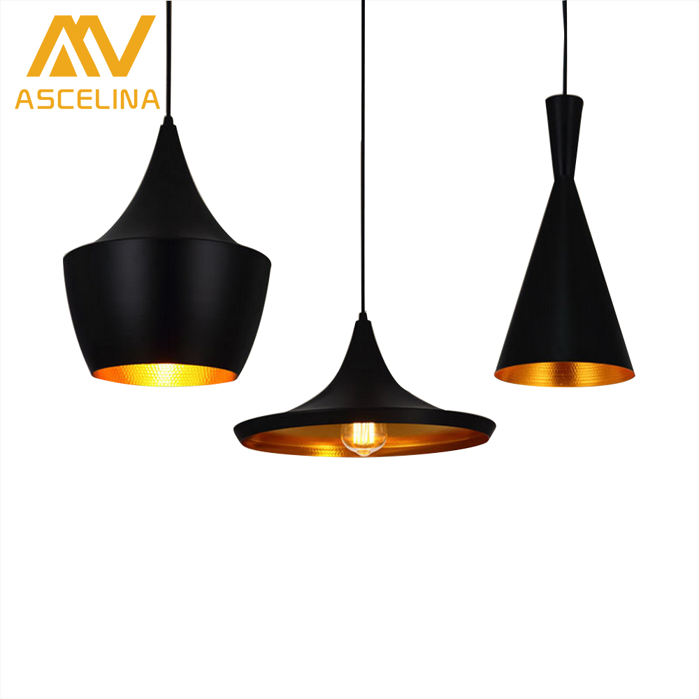 ASCELINA Nordic Loft Modern Industrial Pendant Light Creative Home  lighting Aluminum Hanging Lights E27 Bar Cafe Restaurant настольная лампа mantra akira 0790
