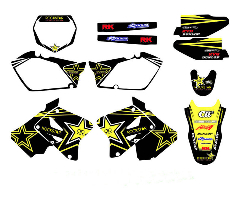 все цены на DECALS STICKERS Graphics Kits For Suzuki RM125 RM250 2001 2002 2003 04 05 06 07 08 09 10 2011 2012 RM 125 250