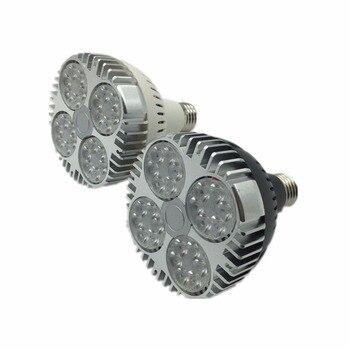 35W E27 Par30 LED Bulb lamp fan inside 85-265V Warm White/Cold White LED spot light Par 30 E27 led lighting 10pc free ship