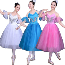 White Swan Lake Ballet Stage wear Costumes Adult Romantic Pl