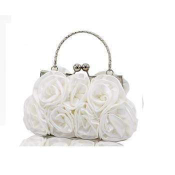 Luksusowe torebki damskie torby projektant torebka w stylu retro torby torebki wieczorowe ślubne panny młodej torebka imprezowa bolsa feminina tanie i dobre opinie Moda 20x5x12cm Party WOMEN Wnętrze breloczków łańcucha Kieszeń na telefon komórkowy Wewnętrzna kieszeń Wnętrze slot kieszeń