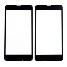 5pcs/lot Black Outer Glass lens for Nokia lumia 630 N630 Hot Sale Free Shipping Grad A +++ Quality With Logo