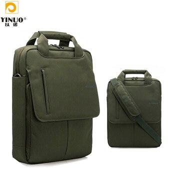 YINUO Fashion Laptop bag 13.3 Premium Oxford Computer Notebook bags for iPad Pro 12.9  men messenger bag Shoulder Handbag laptop bag