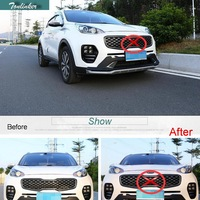 Cover Case Stickers For Kia Sportage QL 2016 17 KX5 2 PCS Car Styling ABS Chrome