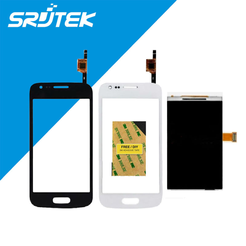 ФОТО 4 inch For Samsung Galaxy Ace 3 GT- S7270 S7272 S7275 LCD Display +Touch Screen Digitizer  Panel Sensor Lens Glass Free S
