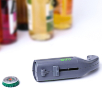 Portable Bottle Cap Launcher Flying Cap Beer Opener Funny Drink Opening Shooter Bar Tools 130*55*38mm 3