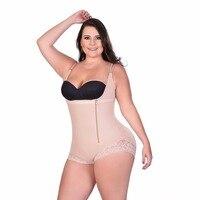 Sexy Shapewear Butt Lifter Body Shaper Underwear Bodysuit Modeling Strap Waist Slimming Abdomen Full Body Control