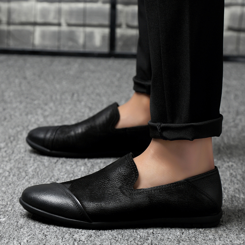 2018 new Slip on Men Shoes Loafers For Man Footwears Casual Breathable Men Flat Shoes 5 каталог mr penguin