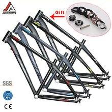 ג סיקה 26er 16/17 סנטימטרים MTB מסגרת אופני הרי מסגרות עבור אופניים Superlight Straiht צינור 44mm מערךמסגרות BSA 68mm