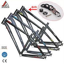JESSICA  26er 16/17 inches MTB Frame Mountain Bike Frames For Bicycle Superlight Straiht Tube 44mm Frameset BSA 68mm