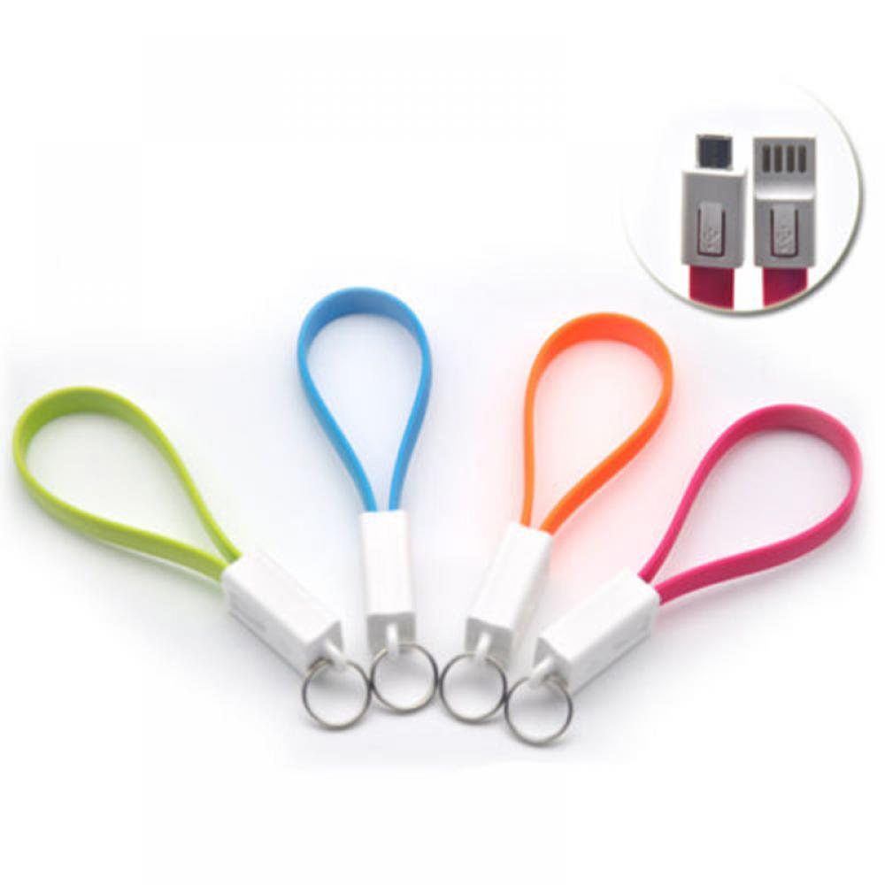 2018 fashion Portable Key Chain Key Ring Micro USB Charger Cable Cord Flash Key Chain костюм key fashion