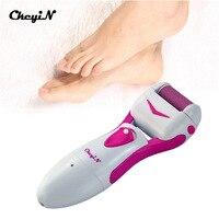 CkeyiN Có Thể Sạc Lại Điện Foot Pedicure Máy Chuyên Nghiệp Feet với Việc Chăm Sóc với Thay Thế Head Skin Callous Callus Remover 40