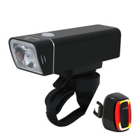 Usb Rechargeable Bike Light Front Handlebar Cycling Led Light Flashlight Torch Headlight Bicycle Accessories