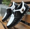 Sapatos masculinos де couro ПУ мужской мягкая удобная работа в офисе обувь ИСКУССТВЕННАЯ кожа мужская белый улица досуг обувь повседневная бездельник