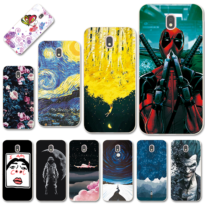 Super Cool Various Phone Case For Samsung Galaxy J32017 Case J330F Covers For Samsung Galaxy J3 2017 Fundas J3 2017 EU Version