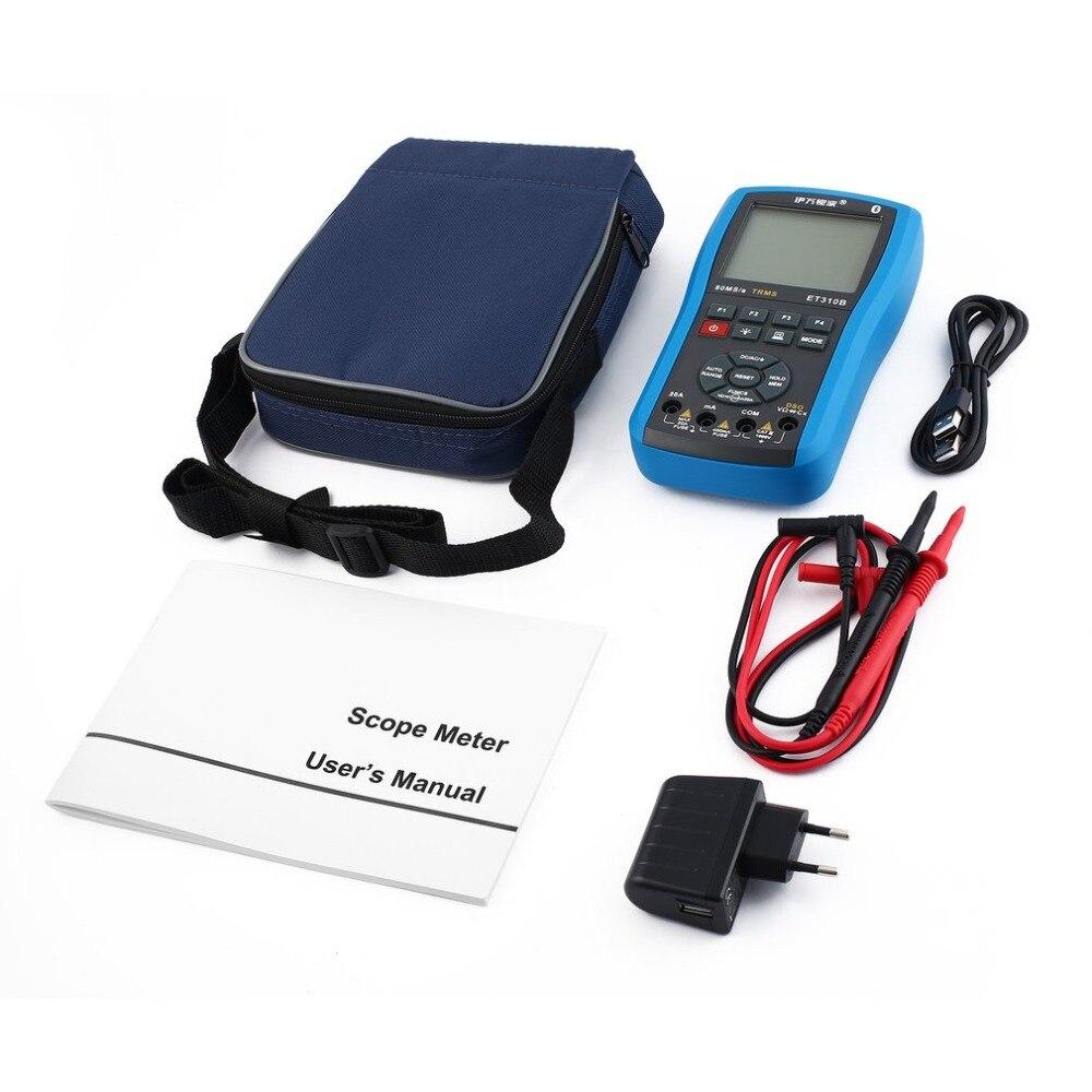 Portée Multimètres Numériques Mini Oscilloscope Intelligent Volt Multitester