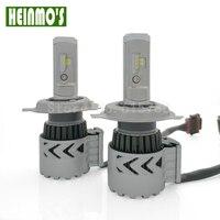 3600LM Cree DRL H4 Led Headlight Lamp Hi Lo Car Auto H13 Led Headlight Bulbs HB1
