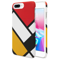 ANYLIFE Anti shock premium back case (with pattern on edges) // iphone 6+/6s+/7+/8+ SQUARE4