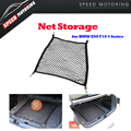 1pcs E60 F10 Rear Trunk 4 Loops Double Layers Envelope Style Cargo Net Sundries Storage Bag for BMW E60 F10 5 Series 70*50cm