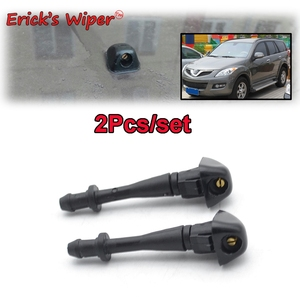 Erick's Wiper 2Pcs/lot Front Windshield Wiper Washer Jet Nozzle For Great Wall Haval H5 2009 2010 2011 2012 2013 2014 2015(China)
