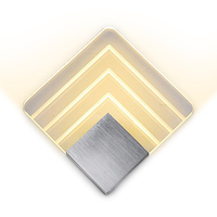 110 220v Acrylic Led Wall Lamp Aluminum Wall Light Lamps Luminarias Wall Lights For Home Stair