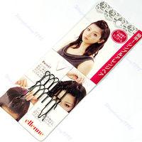 Мода 2 шт. Япония Стиль челки укладки зажимы инструменты спереди гребень для волос Зажимы Новые