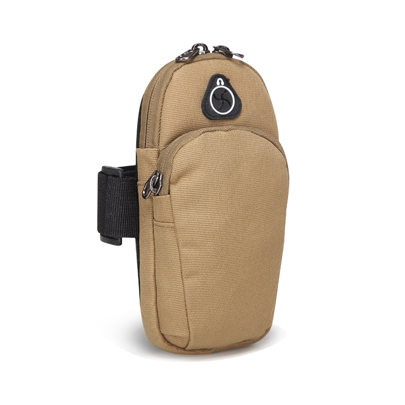 High Quality Small Accessory Molle Arm Bag Casual Purse Motorcycle Riding Men Nylon Military Cell/Mobile Phone Case Cover Purse