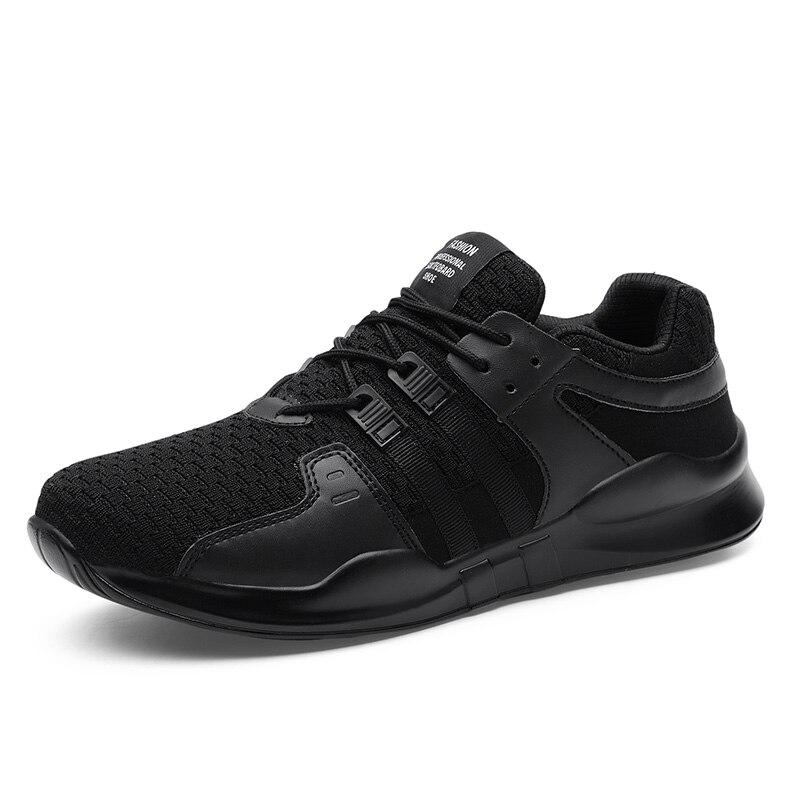 fe3e58828e1f0 Phymonal marca 2018 zapatos corrientes de los hombres zapatillas tendencia  malla transpirable Deporte Zapatos para hombre macho negro gris tamaño  grande 31 ...