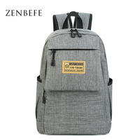 ZENBEFE Unisex School Bag For Teenagers Fashion Travel Ruchsack School Backpack For Student Bookbags 15 Inch