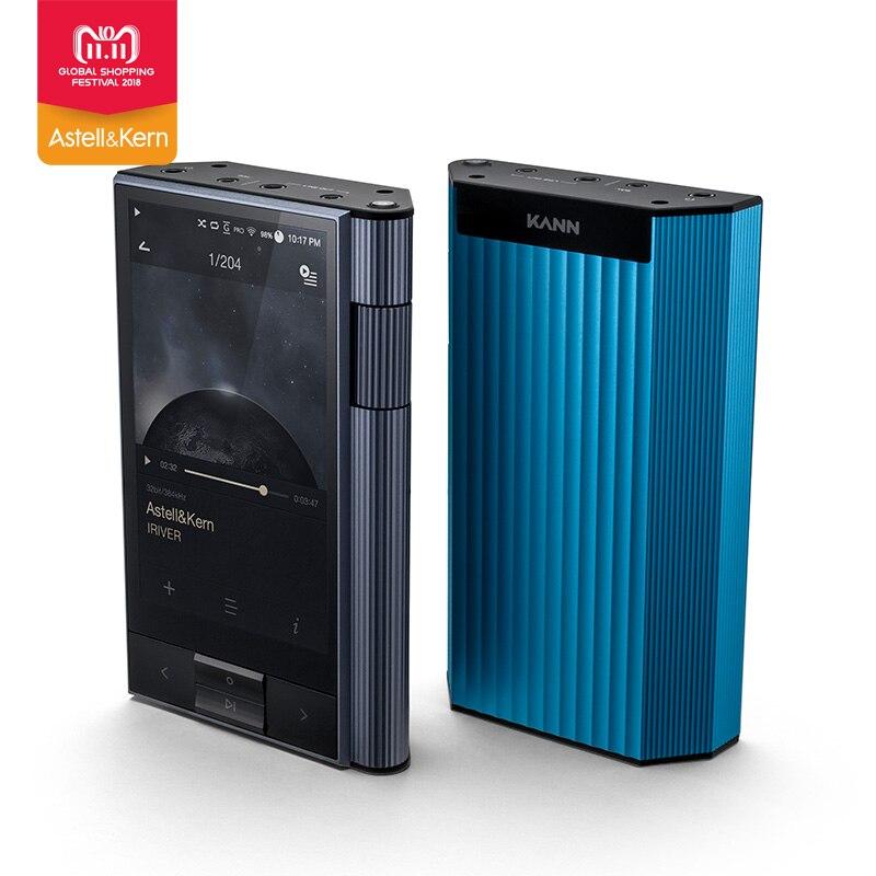 IRIVER Astell & Kern KANN 64 gb hifi leitor de música Portátil MP3 Embutido AMP carregamento rápido Lossless música Presente feito sob encomenda estojo de couro