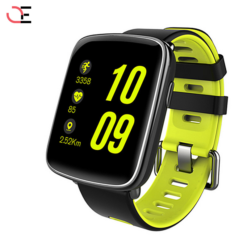 GV68 Sport Bluetooth Smart Watch in MTK2502 Messaggio Chiamata di Promemoria Telecomando Camera Smartwatch IP68 Impermeabile per no 1 f2 ip68 bluetooth smartwatch green