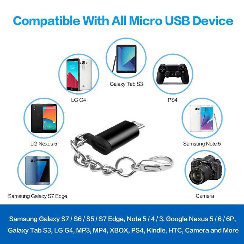 マイクロ USB アダプタタイプ C のコンバーターへのマイクロ Usb オス Otg USB Android 携帯錠ゲームパッド