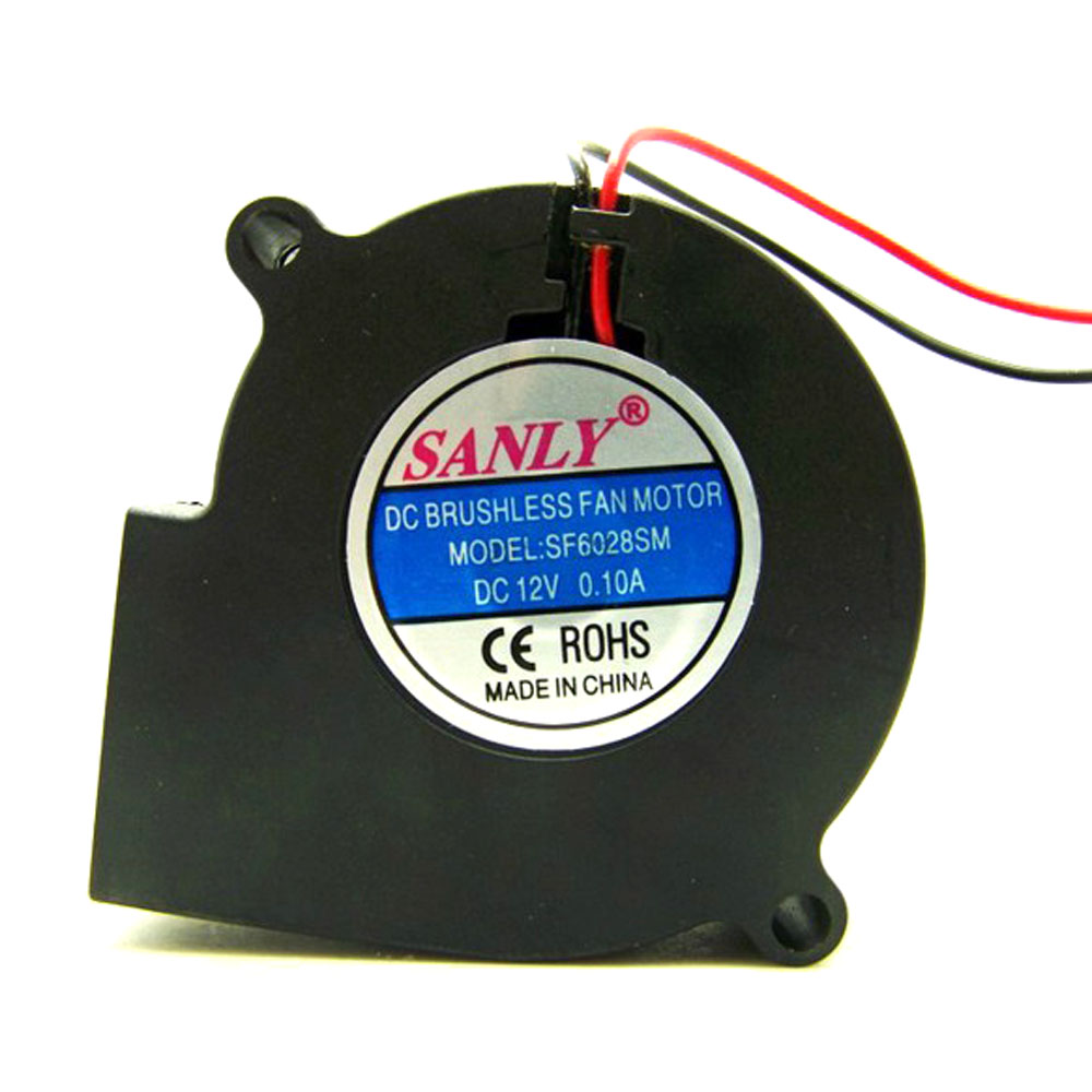 Sanly sf6028sm dc brushless fan motor 0 1a 12v blower for Sanly dc brushless fan motor
