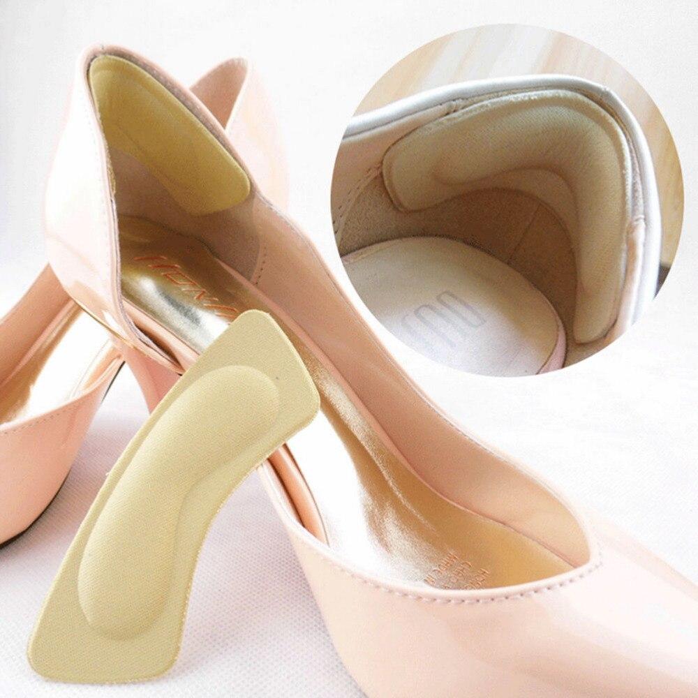 1Pair High Heel Sponge 3D 4D Shoe Insoles Cushions Pads DIY Cutting Feet Care