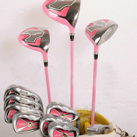 New ladies Golf clubs Honma U100 Compelete set of clubs Driver+fairway wood+irons+Putter Graphite Golf shaft Free shipping